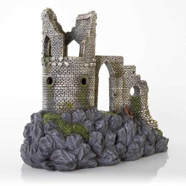 """BioBubble Decorative Mow Cop Castle Large 12.5"""" x 11.25"""" x 8"""""""