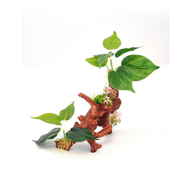 "BioBubble Decorative Ficus Medium Green 8.75"" x 4"" x 13.5"""