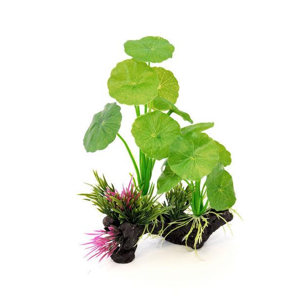 """BioBubble Decorative Lillypad Green 6"""" x 3"""" x 8.75"""""""