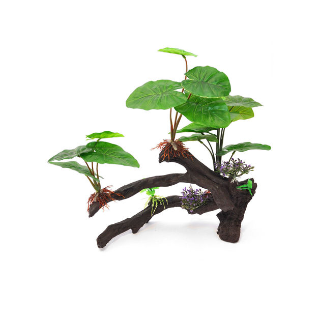 "BioBubble Decorative Ficus Large Green 14"" x 4.5"" x 15"""