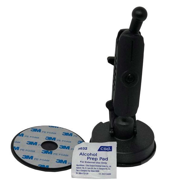 "The Buzzard's Roost Medium-Duty Garmin Astro/Alpha GPS Windshield/Dash Mount Black 7.5"" x 3.5"" x 3.5"""