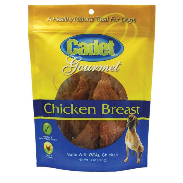Cadet Premium Gourmet Chicken Breast Treats 14 ounces