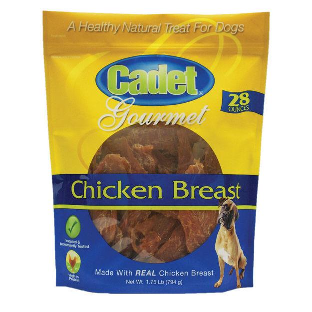 Cadet Premium Gourmet Chicken Breast Treats 28 ounces