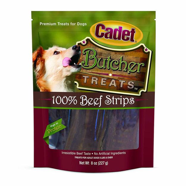 Cadet Butcher Treats Beef Strips 8 ounces