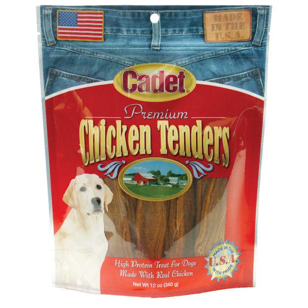 Cadet Premium Gourmet USA Chicken Tender Treats 12 ounces