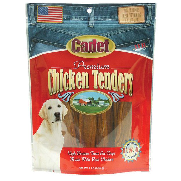 Cadet Premium Gourmet USA Chicken Tender Treats 1 pound