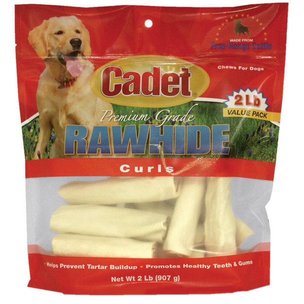 Cadet Rawhide Curls 2 pounds