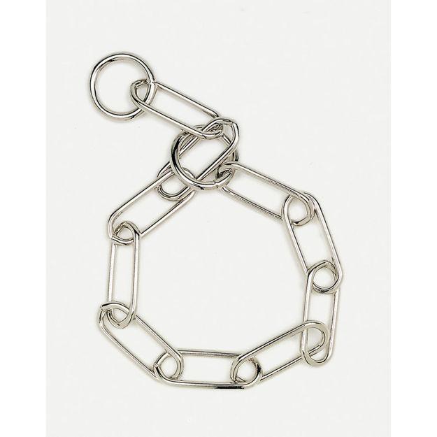 "Coastal Pet Products Herm. Sprenger Fur Saver Link Dog Chain Training Collar 3.0mm 19"" Silver"