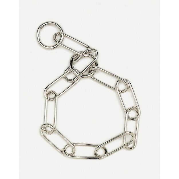 "Coastal Pet Products Herm. Sprenger Fur Saver Link Dog Chain Training Collar 3.0mm 23"" Silver"