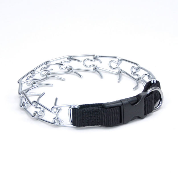 "Coastal Pet Products Titan Easy-On Dog Prong Training Collar with Buckle Small Silver 13"" x 2.50"" x 1.5"""