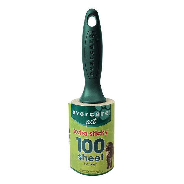"Evercare Pet Plus Extreme Stick Lint Roller 100 Sheet 9.5"" x 2.75"" x 2.75"""