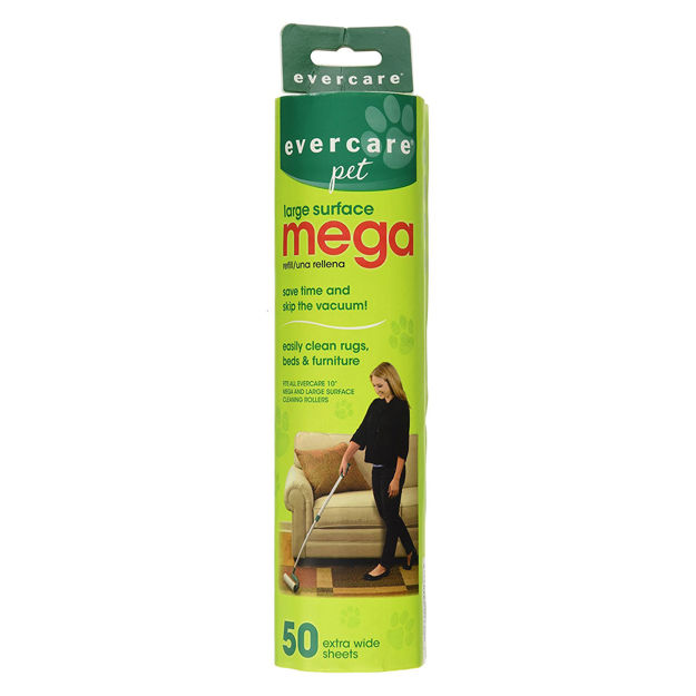 """Evercare Pet Extreme Stick Mega 50 Sheet Refill 10"""" x 2.75"""" x 2.75"""""""
