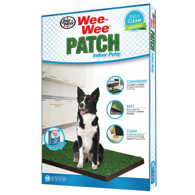 "Four Paws Wee-Wee Patch Indoor Potty Medium 30"" x 20"" x 1"""