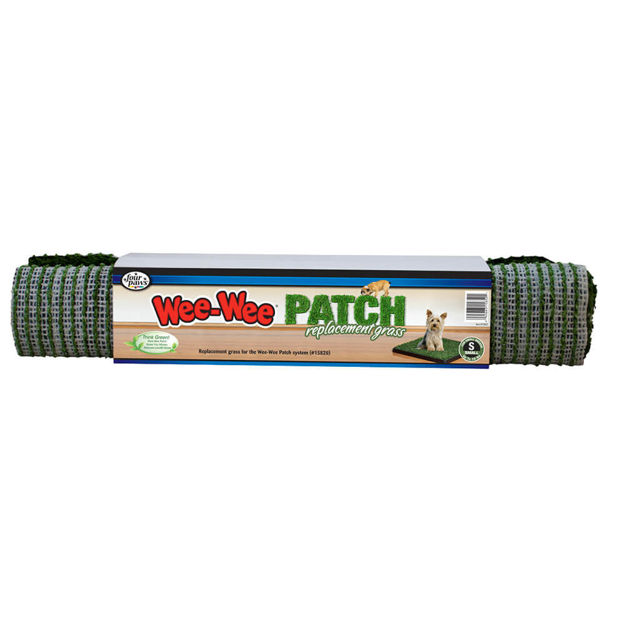 """Four Paws Wee-Wee Patch Indoor Potty Replacement Grass  Medium 19"""" x 19"""" x 0.5"""""""