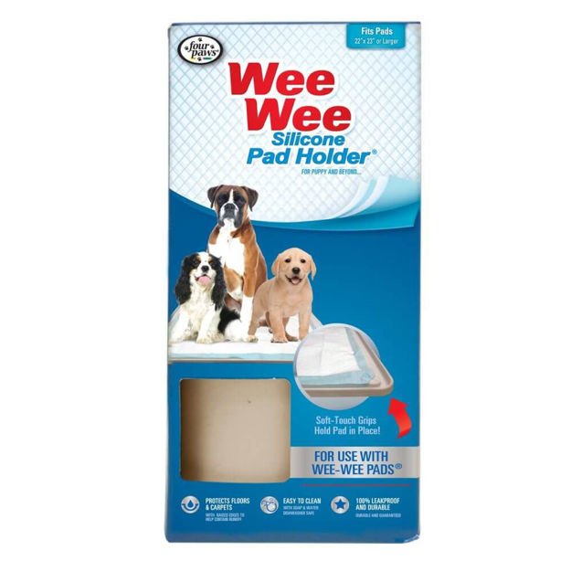 Four Paws Wee-Wee Silicone Pad Holder
