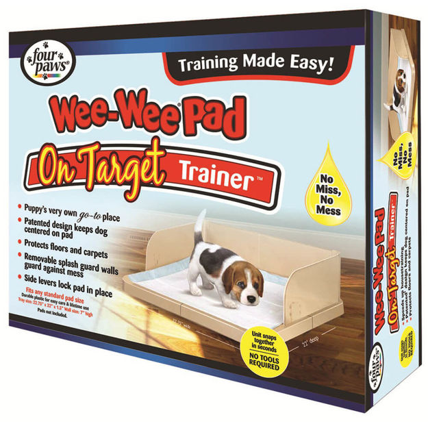 """Four Paws Wee-Wee Pad On Target Trainer 22.75"""" x 22"""" x 7"""""""