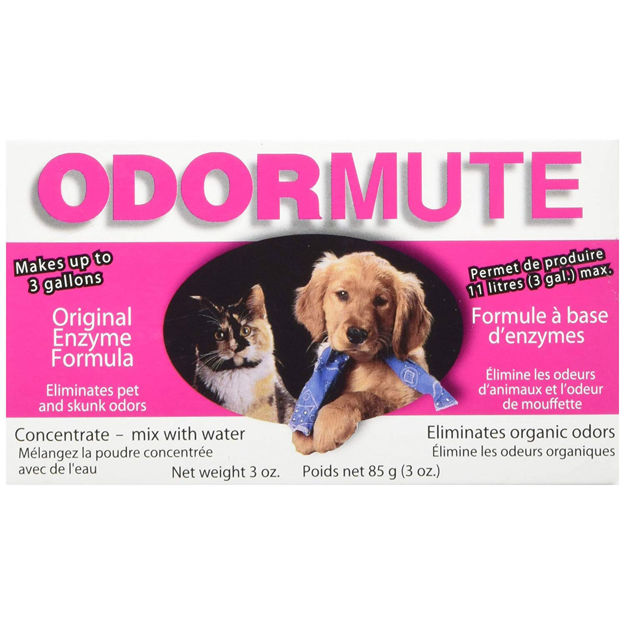 "Hueter Toledo Odormute Powder Odor Eliminator Unscented 3 ounces 4.5"" x 2.5"" x 1.5"""