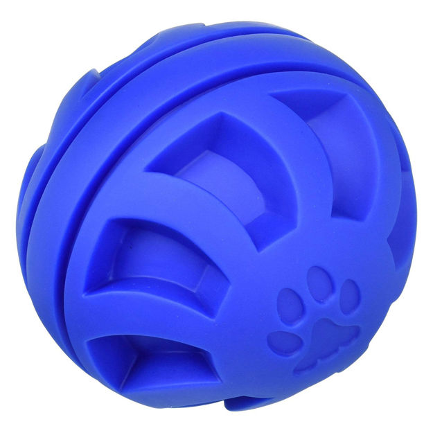 "Hueter Toledo Soft Flex Swirel Ball Dog Toy Blue 5.5"" x 5.5"" x 5.5"""