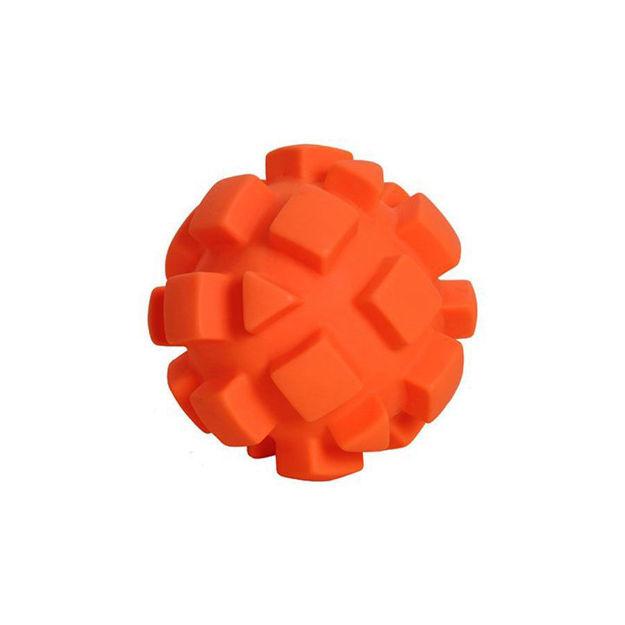 "Picture of Hueter Toledo Soft Flex Bumby Ball Dog Toy Orange 5.5"" x 5.5"" x 5.5"""
