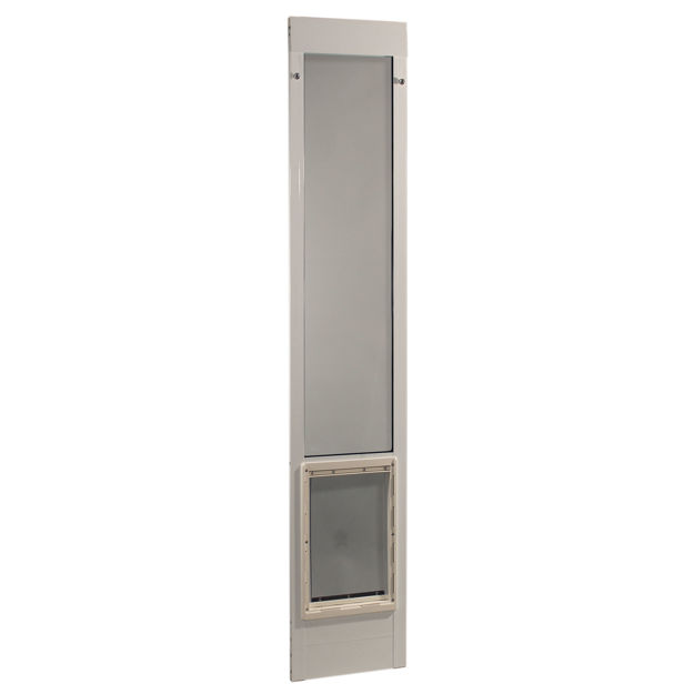 "Picture of Ideal Pet Products Fast Fit Pet Patio Door Extra Large White 1.88"" x 15.25"" x 75"""