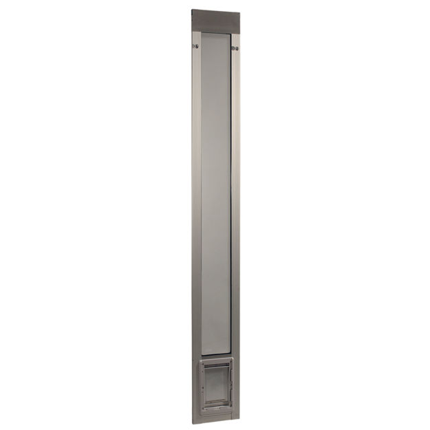 "Picture of Ideal Pet Products Fast Fit Pet Patio Door Small Mill 1.63"" x 8.75"" x 77.63"""
