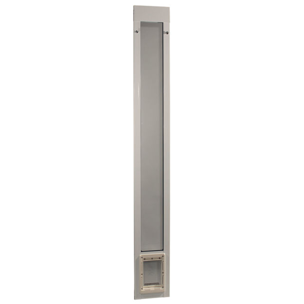 """Picture of Ideal Pet Products Fast Fit Pet Patio Door Small White 1.63"""" x 8.75"""" x 77.63"""""""