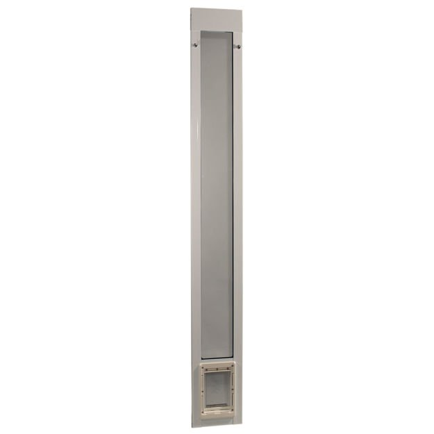"""Ideal Pet Products Fast Fit Pet Patio Door Small White 1.63"""" x 8.75"""" x 77.63"""""""