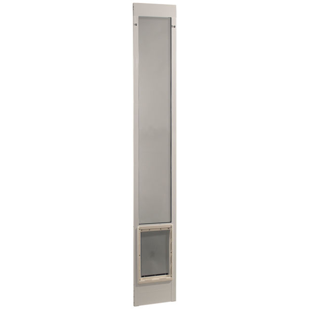 "Picture of Ideal Pet Products Fast Fit Pet Patio Door Extra Large White 2"" x 15"" x 93.62"""