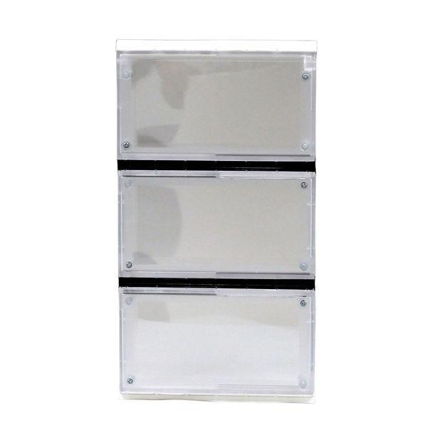 "Ideal Pet Products Air-Seal Pet Door Medium White 2.25"" x 10"" x 14.75"""