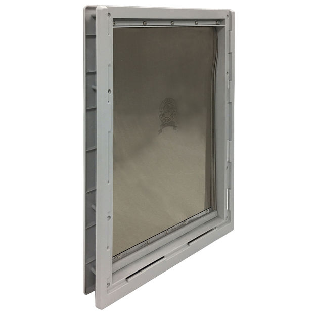 "Picture of Ideal Pet Products Designer Series Pet Door Super Large Grey 2.12"" x 17.93"" x 23.87"""