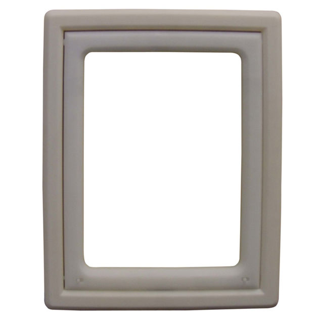 """Picture of Ideal Pet Products Screen Fit Pet Door Medium White 0.44"""" x 10.63"""" x 12.63"""""""