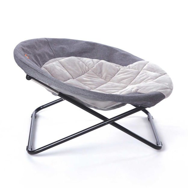 """K&H Pet Products Elevated Cozy Cot Large Gray 30"""" x 30"""" x 16.5"""""""