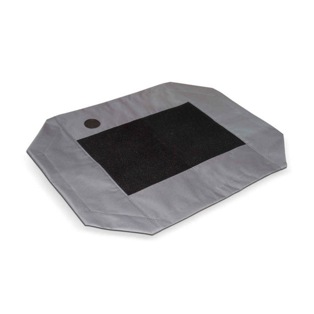 "K&H Pet Products Original Pet Cot Cover Large Gray 30"" x 42"" x 0.25"""