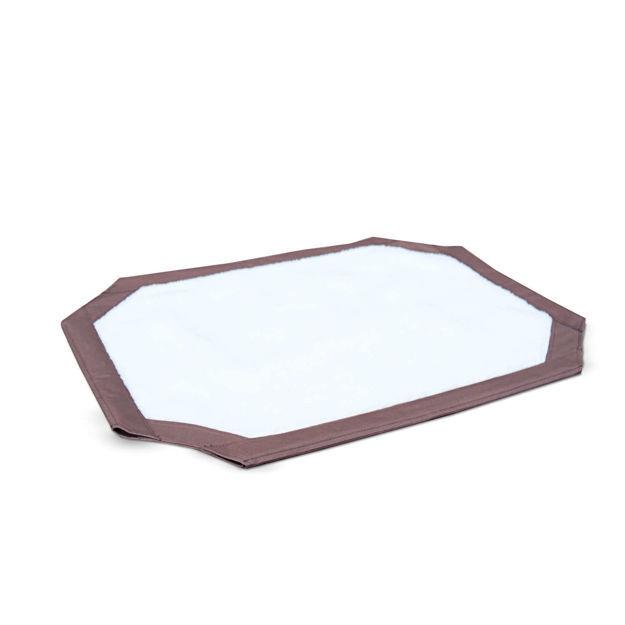 "K&H Pet Products Self-Warming Pet Cot Cover Medium Brown 25"" x 32"" x 0.25"""