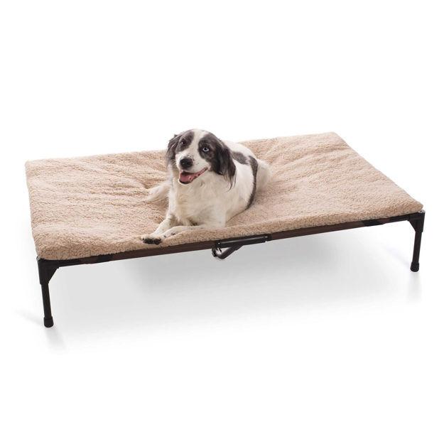 "Picture of K&H Pet Products Original Pet Cot Pad Extra Large Beige 32"" x 50"" x 1"""