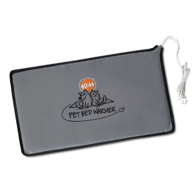"""Picture of K&H Pet Products Pet Bed Warmer Extra Large Gray 15.5"""" x 26"""" x 0.1"""""""