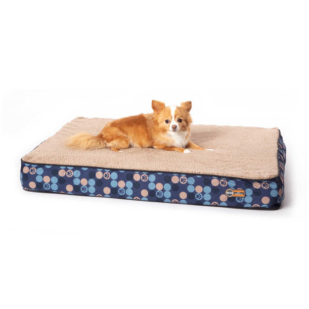 """K&H Pet Products Superior Orthopedic Dog Bed Small Navy Blue 27"""" x 36"""" x 4"""""""