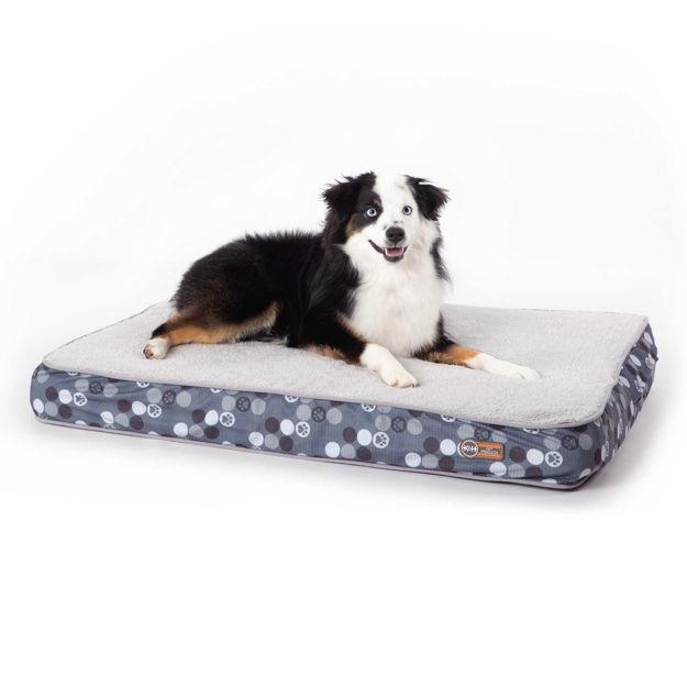 "K&H Pet Products Superior Orthopedic Dog Bed Medium Gray 30"" x 40"" x 4"""
