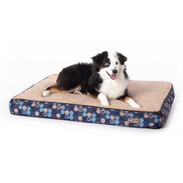 "K&H Pet Products Superior Orthopedic Dog Bed Medium Navy Blue 30"" x 40"" x 4"""