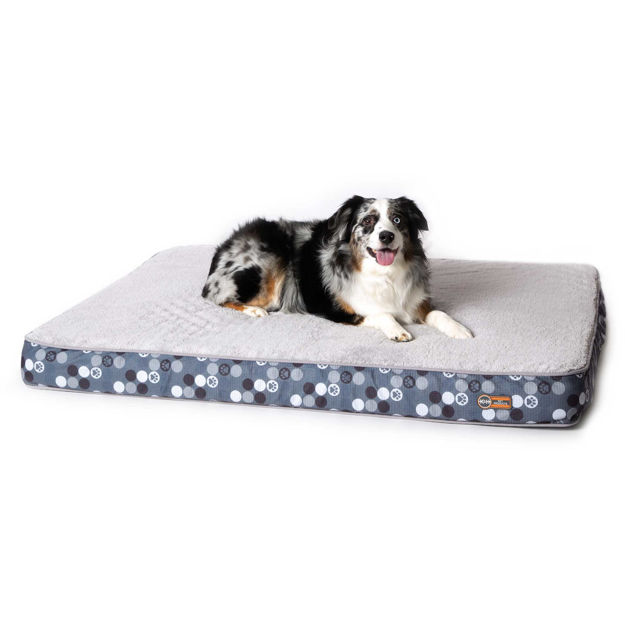 "K&H Pet Products Superior Orthopedic Dog Bed Large Gray 35"" x 46"" x 4"""