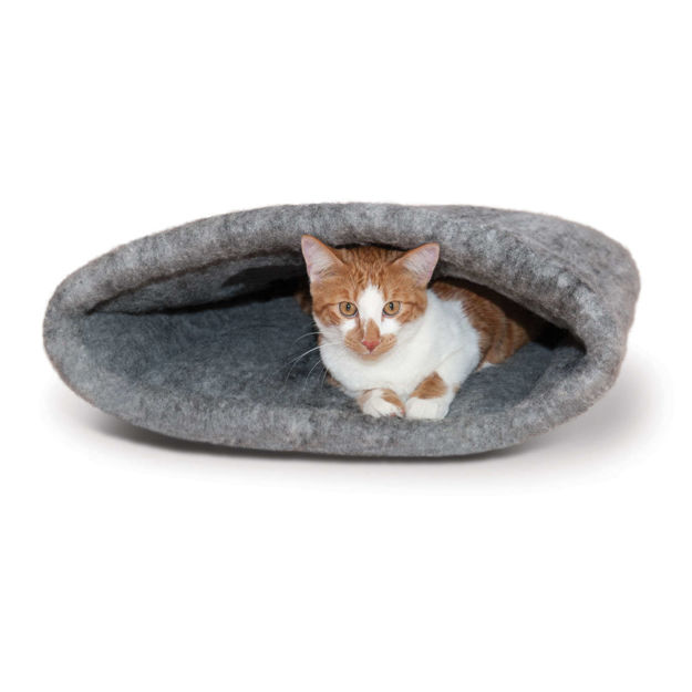 """Picture of K&H Pet Products Amazin' Kitty Sack Gray 22"""" x 20"""" x 20"""""""