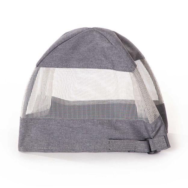 """K&H Pet Products Travel Bike Basket Hood for Pets Large Gray 12.5"""" x 16"""" x 13"""""""