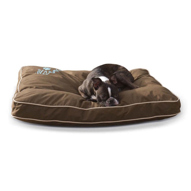 "Picture of K&H Pet Products Just Relaxin' Indoor/Outdoor Pet Bed Medium Chocolate 28"" x 36"" x 3.5"""
