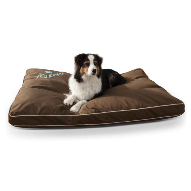 """Picture of K&H Pet Products Just Relaxin' Indoor/Outdoor Pet Bed Large Chocolate 36"""" x 48"""" x 3.5"""""""
