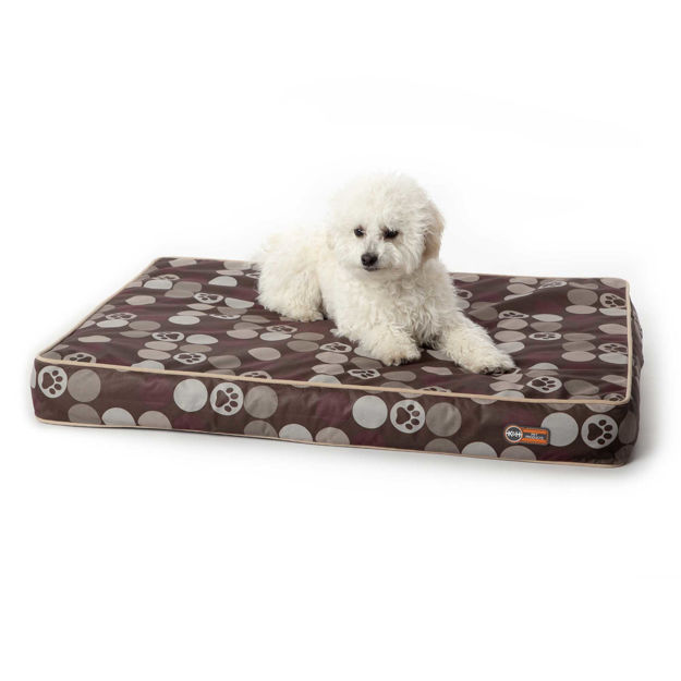 "Picture of K&H Pet Products Superior Orthopedic Indoor/Outdoor Bed Small Brown 36"" x 27"" x 4"""