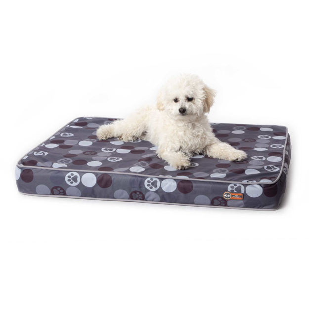 "Picture of K&H Pet Products Superior Orthopedic Indoor/Outdoor Bed Small Gray 36"" x 27"" x 4"""