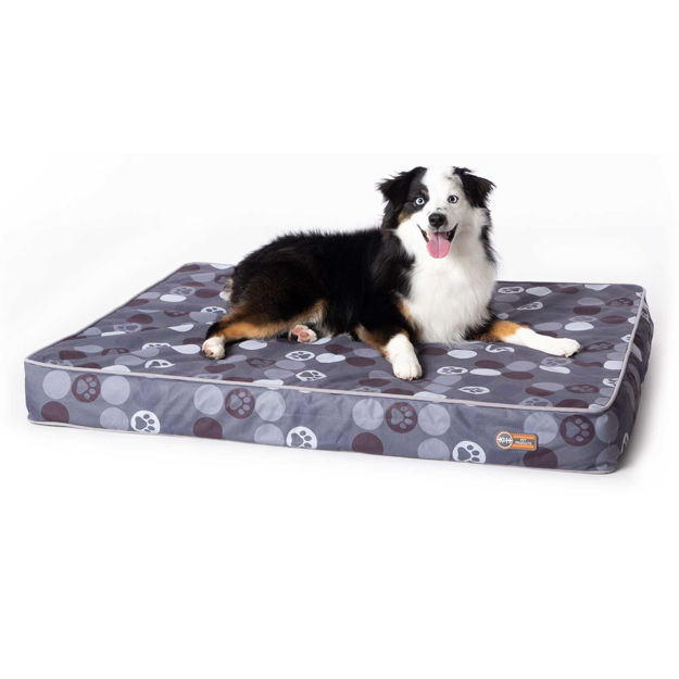 """Picture of K&H Pet Products Superior Orthopedic Indoor/Outdoor Bed Medium Gray 40"""" x 30"""" x 4"""""""
