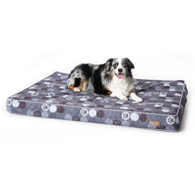 "K&H Pet Products Superior Orthopedic Indoor/Outdoor Bed Large Gray 46"" x 35"" x 4"""