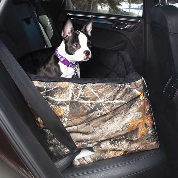 "Picture of K&H Pet Products Realtree Bucket Booster Pet Seat Small Camo 20"" x 20"" x 15"""