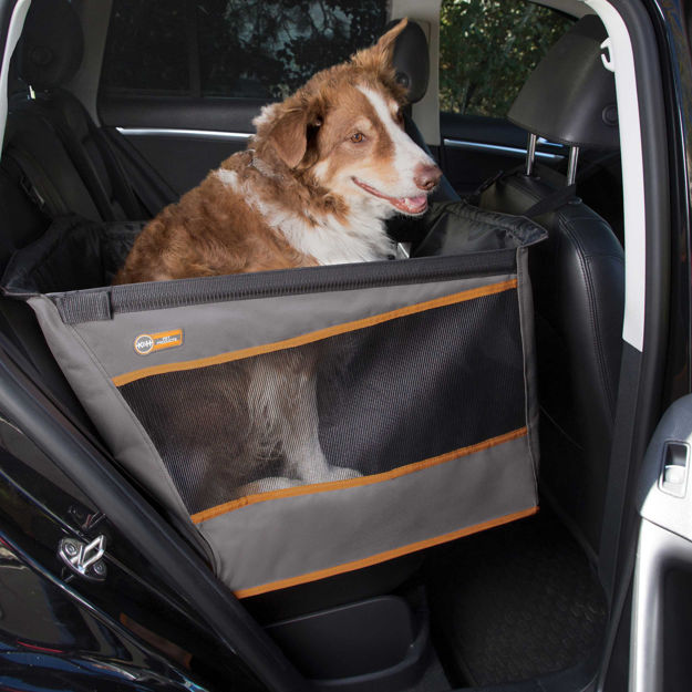 """Picture of K&H Pet Products Buckle n' Go Pet Seat Small Gray 21"""" x 13"""" x 19"""""""
